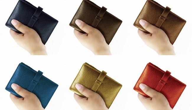 ミニ6穴の手のひらサイズで女性にも人気~『EOO+ Genuine Leather システム手帳カバー』