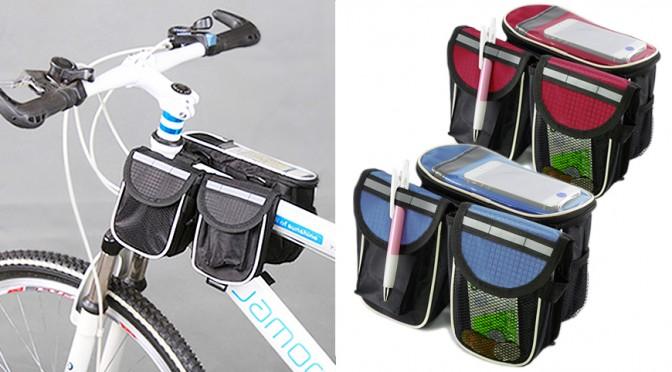 カゴなし自転車に簡単に取り付けられるEOO+イオプラス カスタムライダーバッグ!