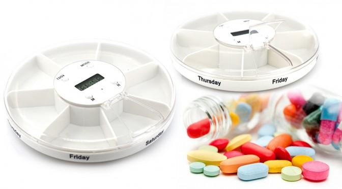 アラームで薬を飲む時間をお知らせしてくれるEOO+イオプラス お薬アラームケース