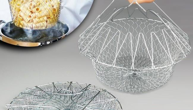 EOO+イオプラス ミラクルキッチンバスケット/kitchen basketがおうちにあればいろいろ使えてとっても便利!