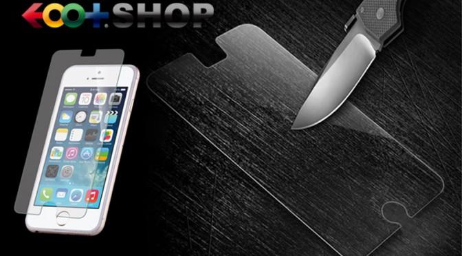 iPhone6用の強化ガラスフィルムを用途に合わせて選べるよ。そう、イオプラスショップならね。